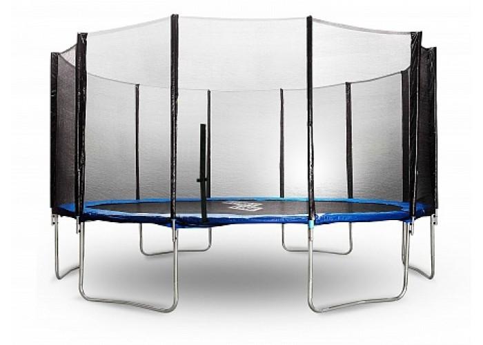 Батут 14 футов (427 см) с внешней сеткой и держателями