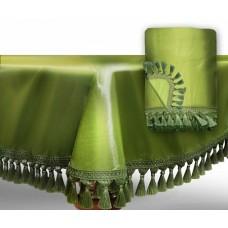 """Чехол для бильярдного стола """"Элегант-Люкс""""12 футов / светло-зеленый"""