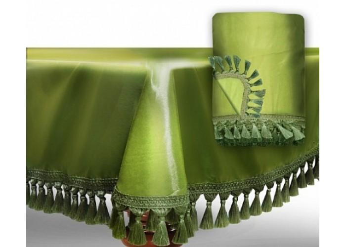 """Чехол для бильярдного стола """"Элегант-Люкс""""9 футов / светло-зеленый"""