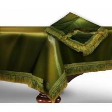 """Чехол для бильярдного стола """"Элегант""""12 футов / темно-зеленый"""