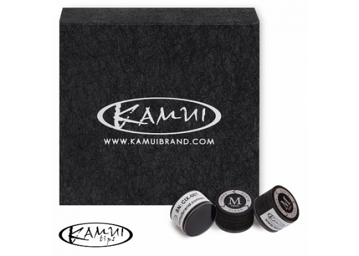 Наклейка Kamui Clear Black 13 mm M