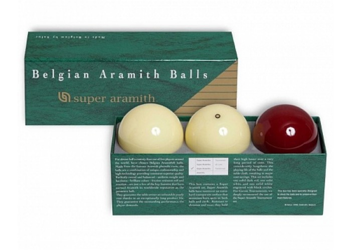 Шары Super Aramith Traditionnel Carom 61,5 мм