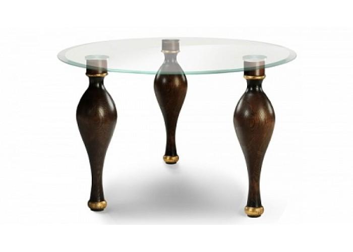 Стол со стеклянной столешницей «Буржуа»