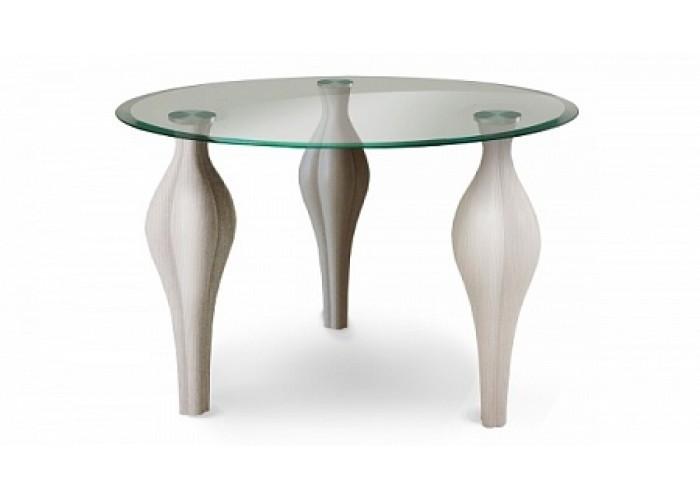 Стол со стеклянной столешницей «Фиоре»