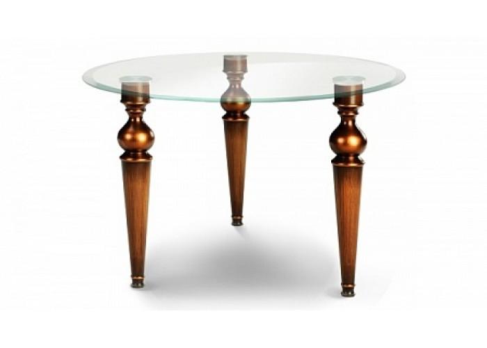 Стол со стеклянной столешницей «Маркиз»