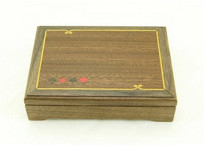 Шкатулка для 1 колоды карт