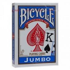 Карты Bicycle jumbo