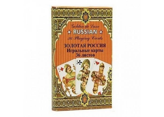 Карты Золотая Россия (36 карт)