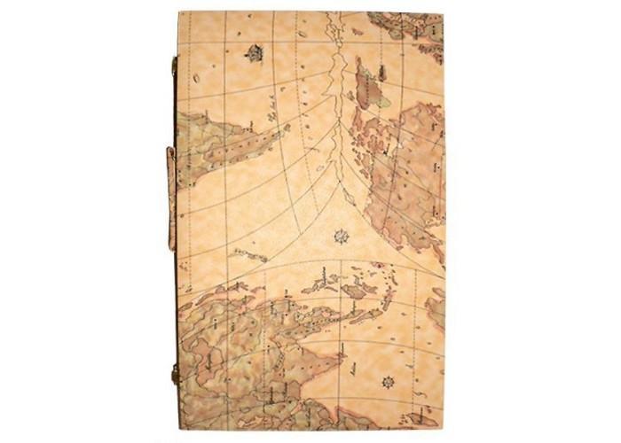 Нарды Карта Мира (кожа)