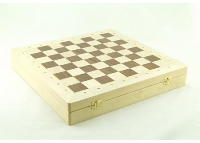 Шахматный ларец Woodgame Береза, 40мм