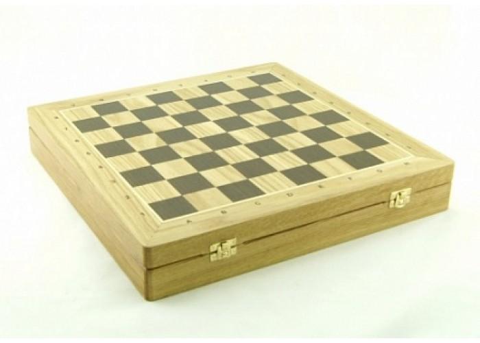 Шахматный ларец Woodgame Дуб, 50 мм