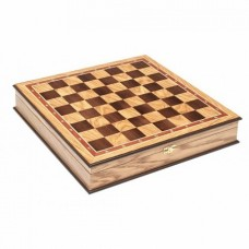 Шахматный ларец без фигур Дуб 45 мм