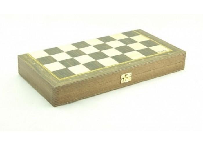 Шахматный ларец складной Дуб, 40мм