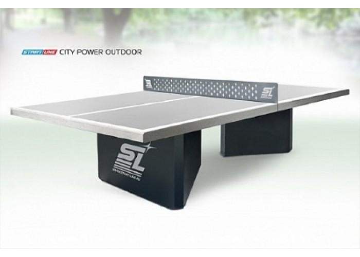 Теннисный стол City Power Outdoor бетонный антивандальный