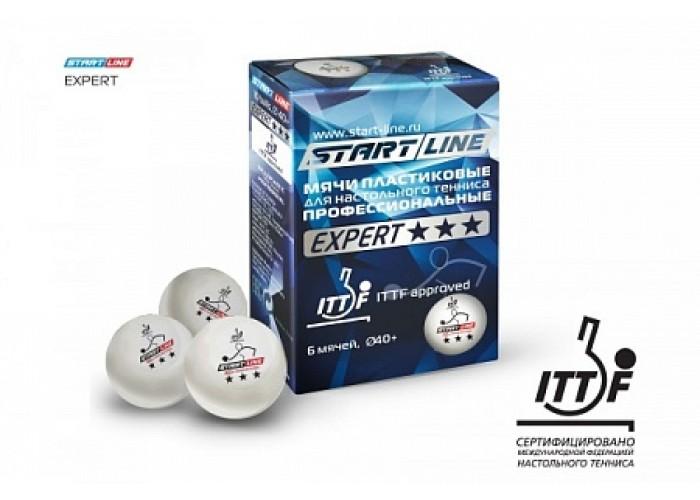 EXPERT 3*, 6 мячей в упаковке