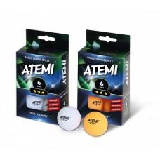 Мячи теннисные Atemi 3* 6 шт.