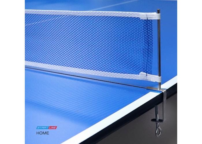 HOME сетка для теннисного стола, крепление - фиксатор.
